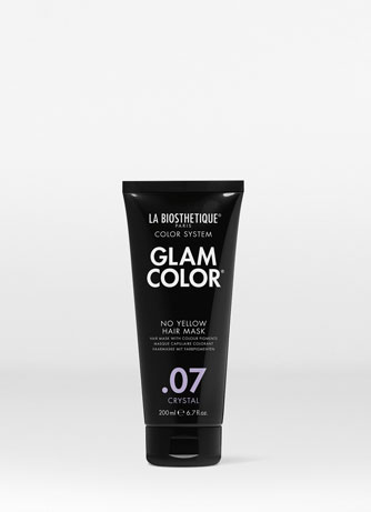Тонирующая маска для волос No Yellow .07 Crystal Glam Color No Yellow Hair Mask .07 Crystal La Biosthetique