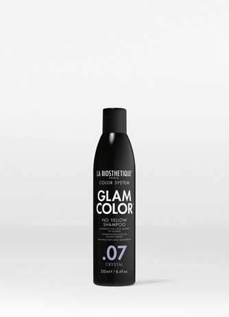 Шампунь для окрашенных волос No Yellow .07 Crystal Glam Color No Yellow Shampoo .07 Crystal La Biosthetique